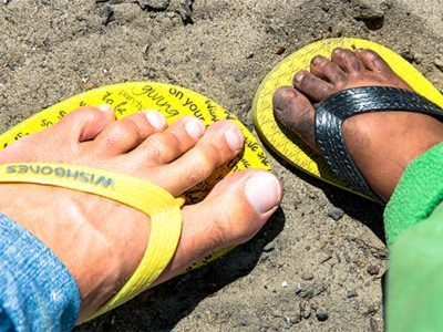 wishbones slippers