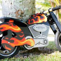 Loopfiets voor stoere motormuisjes: jong geleerd…