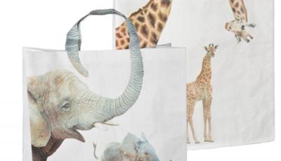 shopper tas dierenprint