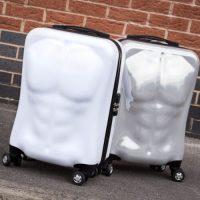 Reiskoffer met een vakantie-proof lichaam: pack that sixpack