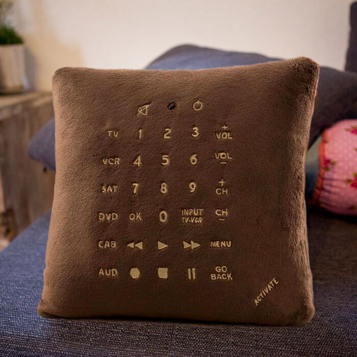 remote pillow kussen