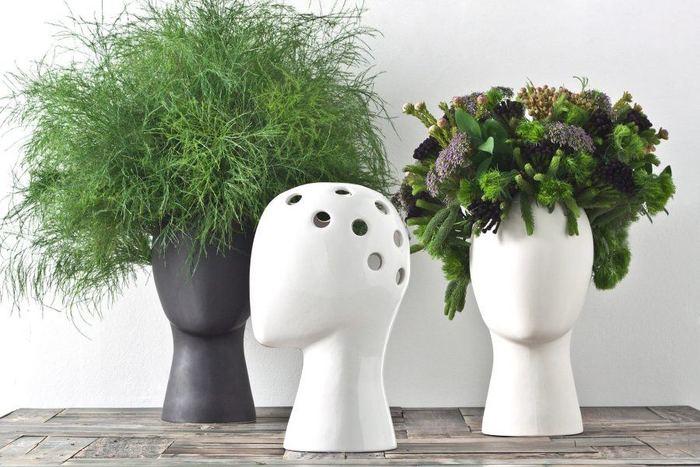 bloemenvaas hoofd