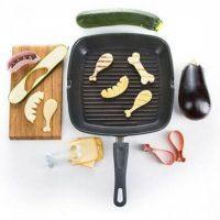 BBQ Groenten set: niks vlees in de kuip, ga voor grappig groente en fruit