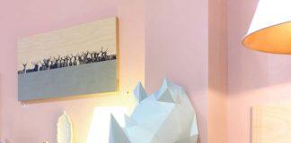papieren dieren muurdecoratie
