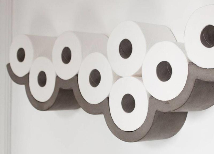 toiletrolhouder beton
