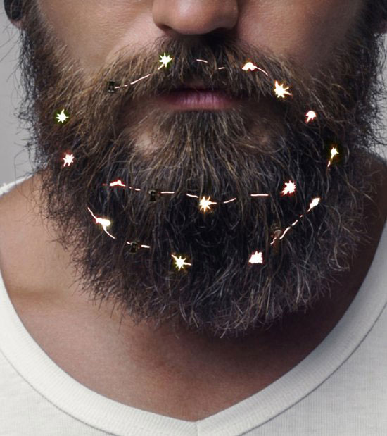 verlichting baard